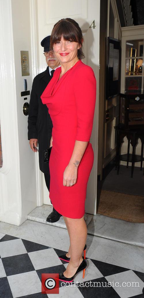 Davina McCall arrives at Marks Club