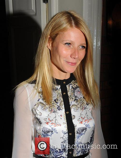 Gwyneth Paltrow seen leaving Marks Club in Mayfair