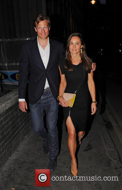 Pippa Middleton and Boyfriend Nico James night out