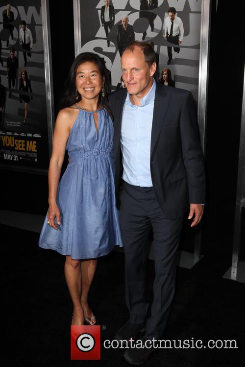 Laura Louie and Woody Harrelson 1