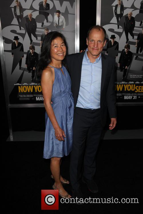 Laura Louie, Woody Harrelson, AMC Lincoln Square