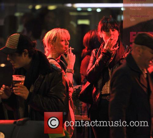 Russell Brand and Sheridan Smith on night out...