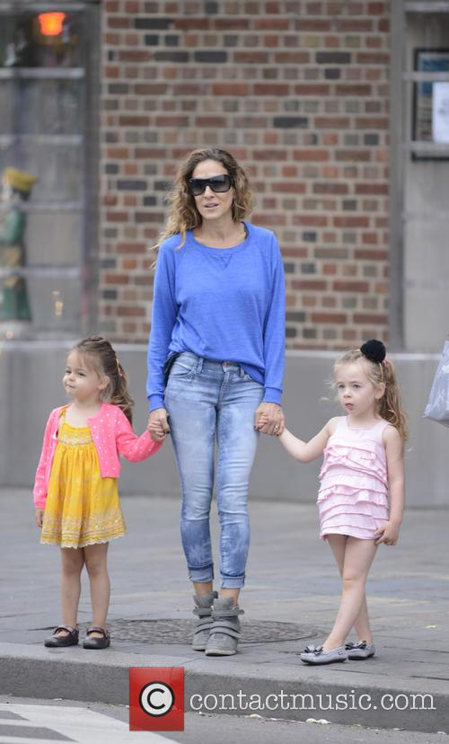 Sarah Jessica Parker, Marion Broderick and Tabitha Broderick 5