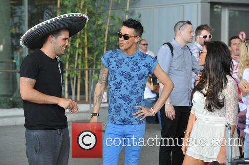 Bobby Cole Norris, Jessica Wright and Ricky Rayment 5