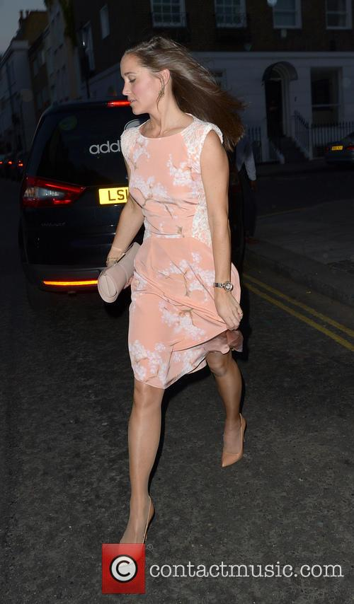 Pippa Middelton arrives at the Waitrose Summer Party...