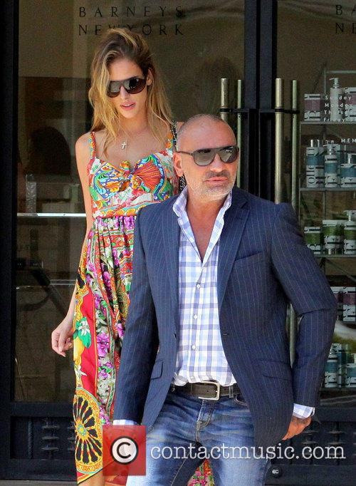 Christian Audigier and Nathalie Sorensen