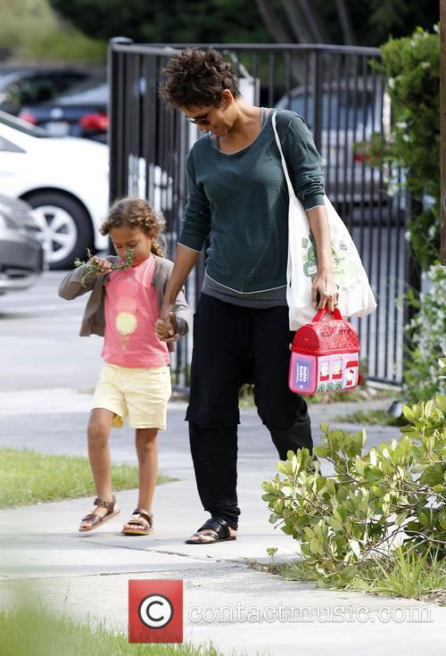 Halle Berry and Nahla Aubry 10