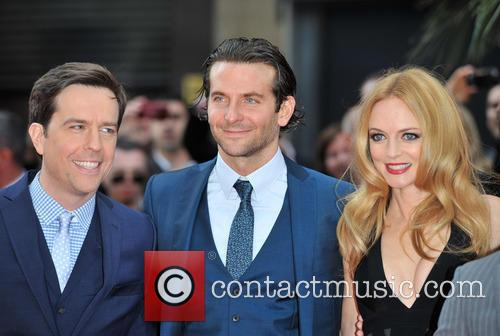 Ed Helms, Bradley Cooper, Heather Graham, Empire Leicester Square