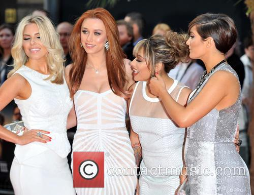 Mollie King, Una Healy, Frankie Sandford, Vanessa White, Empire Leicester Square