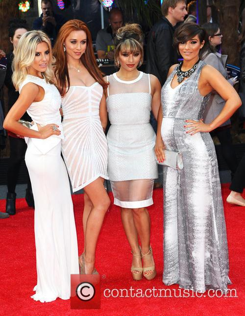 Mollie King, Una Healy, Vanessa White and Frankie Sandford 2
