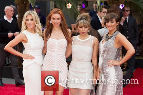 Mollie King, Una Healy, Vanessa White and Frankie Sandford 5