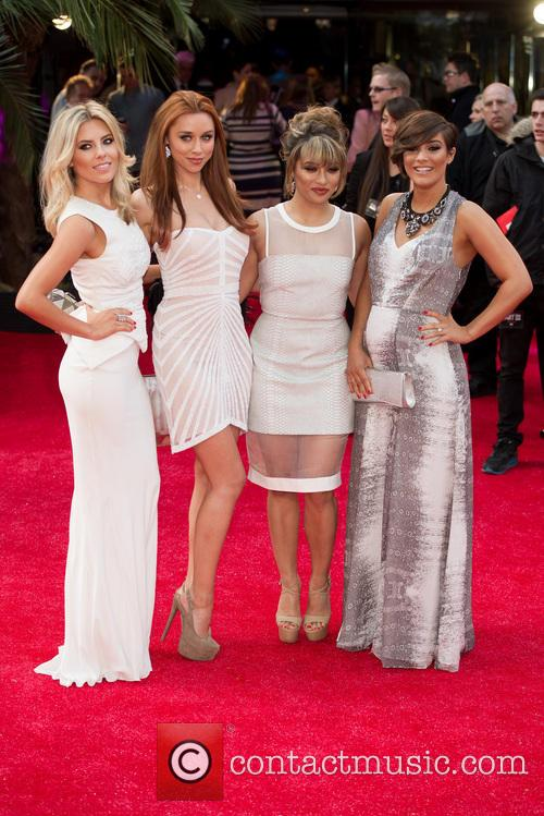 Mollie King, Una Healy, Vanessa White and Frankie Sandford 6
