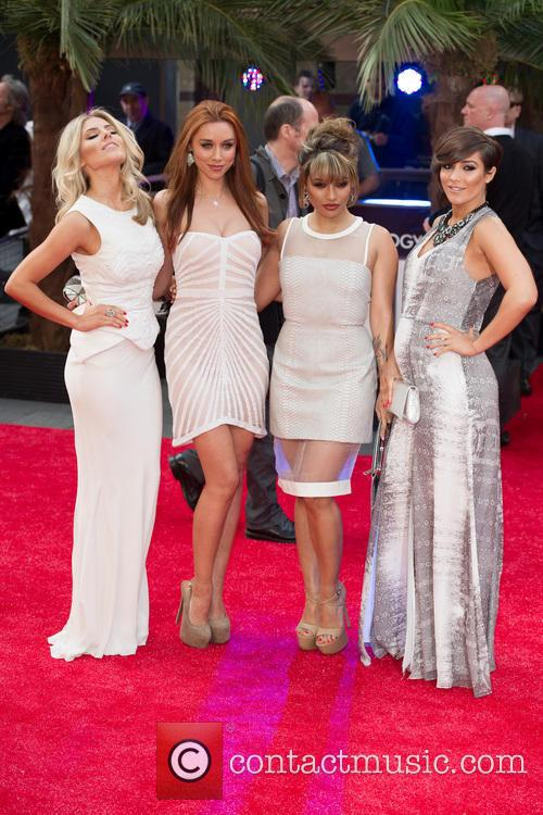 Mollie King, Una Healy, Vanessa White and Frankie Sandford 7