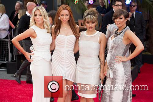Mollie King, Una Healy, Vanessa White and Frankie Sandford 8