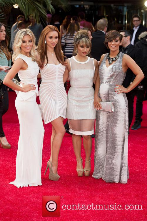 Mollie King, Una Healy, Vanessa White and Frankie Sandford 1