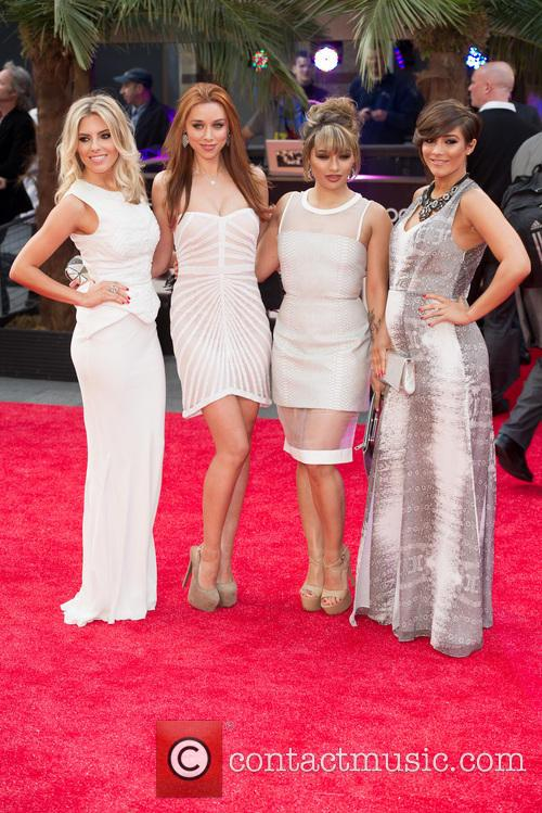 Mollie King, Una Healy, Vanessa White and Frankie Sandford 9