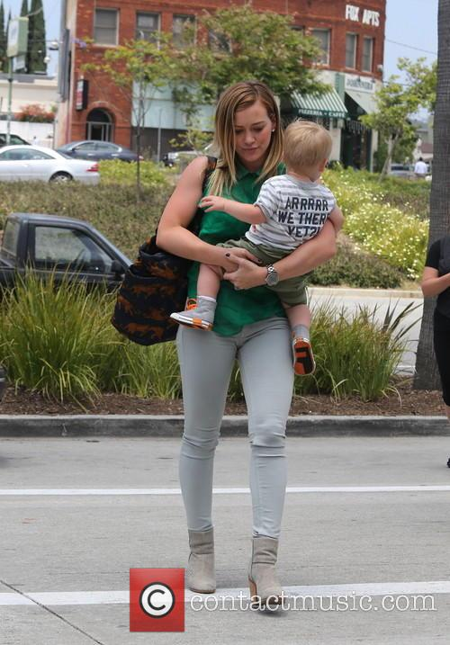 Hilary Duff In Sherman Oaks