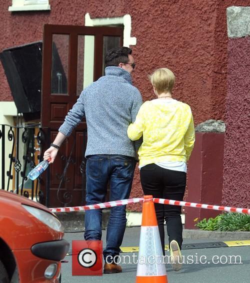 Cecelia Ahern and David Keoghan 2