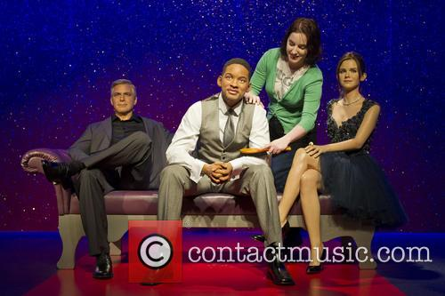 Will Smith joins the party at Madame Tussauds