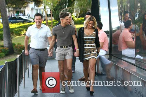 Joey Essex, Sam Faiers and James 'arg' Argent 2