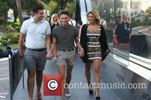 Joey Essex, Sam Faiers and James 'arg' Argent 3