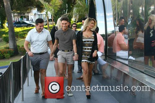 Joey Essex, Sam Faiers and James 'arg' Argent 4