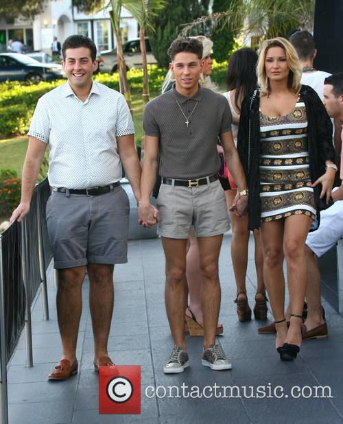 Joey Essex, Sam Faiers and James 'arg' Argent 5