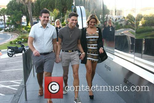 Joey Essex, Sam Faiers and James 'arg' Argent 7
