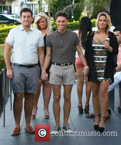 Joey Essex, Sam Faiers and James 'arg' Argent 10