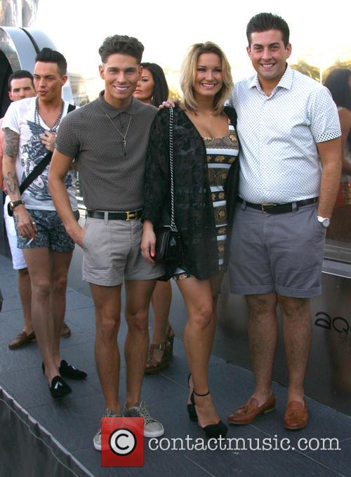 Joey Essex, Sam Faiers and James 'Arg' Argent 13