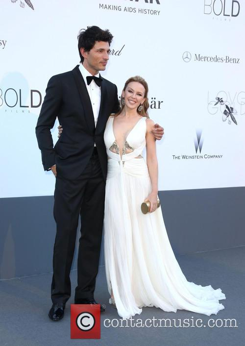 Kylie Minogue and Andres Velencoso 8