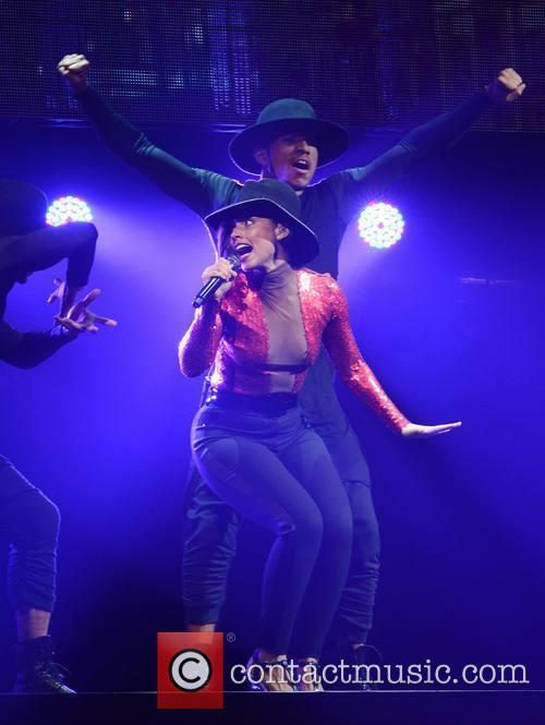 Singer Alicia Keys performs at The O2