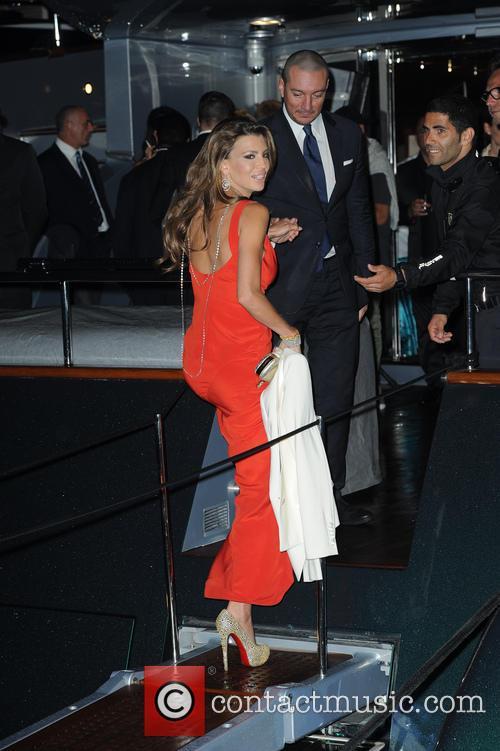 Roberto Cavalli and Claudia Galanti 1