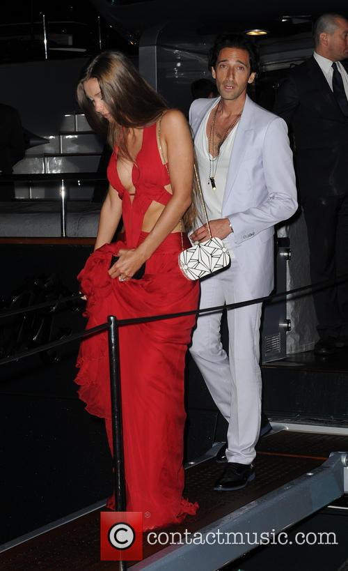 Lara Lieto and Adrien Brody 2