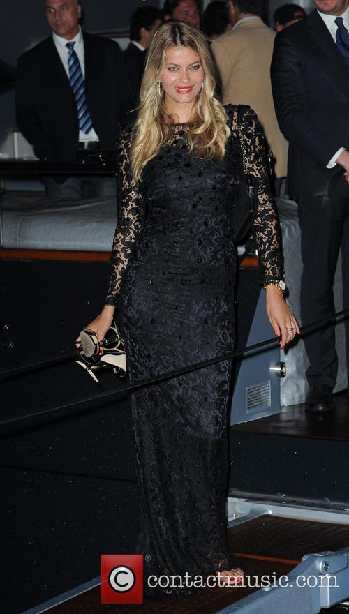 Roberto Cavalli, Natalia Bush, Cannes Film Festival