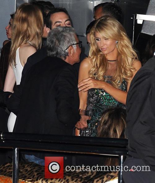 Roberto Cavalli, Paris Hilton, Cannes Film Festival