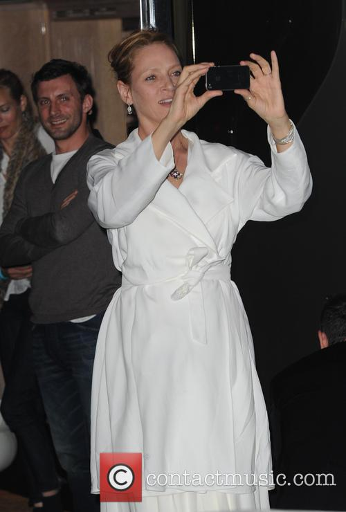 Roberto Cavalli, Uma Thurma, Cannes Film Festival