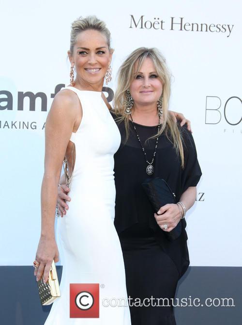 Sharon Stone and Kelly Stone 9
