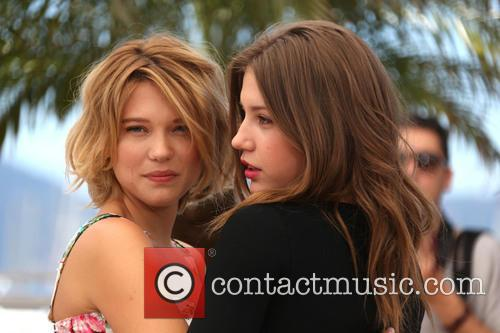 Lea Seydoux and Adele Exarchopoulos 2