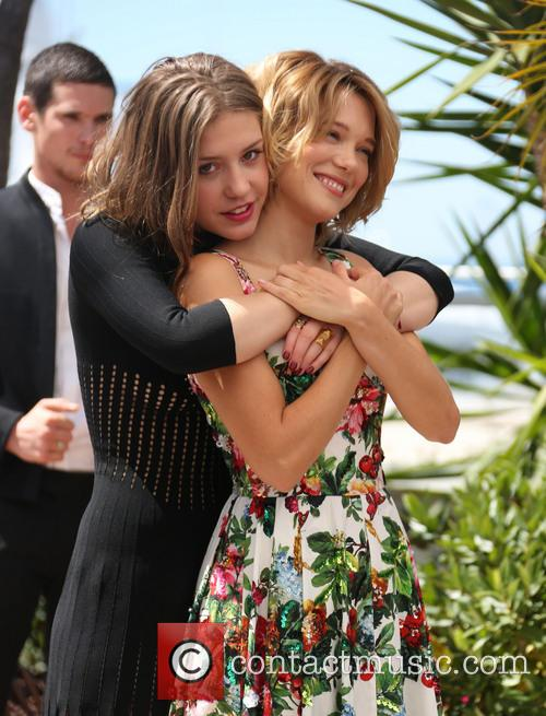 Lea Seydoux and Adele Exarchopoulos 4