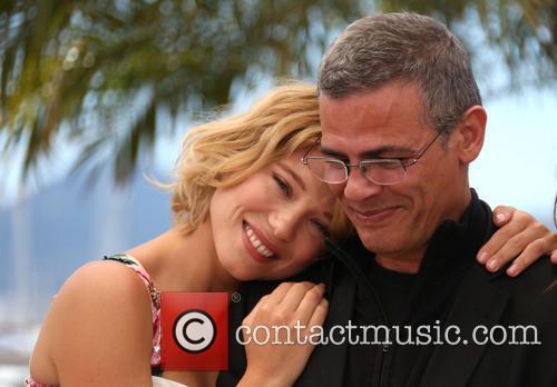Abdellatif Kechiche and Lea Seydoux 5