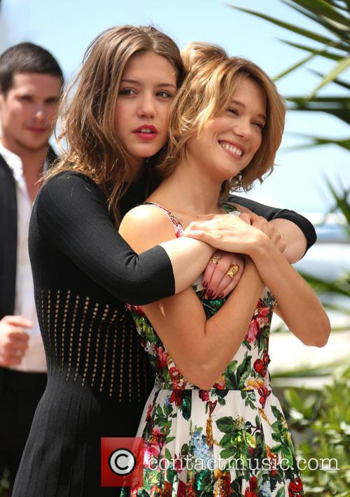 Lea Seydoux and Adele Exarchopoulos 7