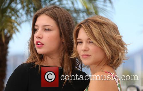 Lea Seydoux and Adele Exarchopoulos 11