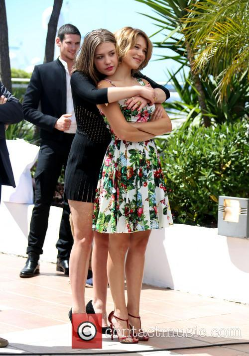 Lea Seydoux and Adele Exarchopoulos 12