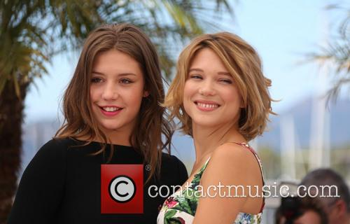 Lea Seydoux and Adele Exarchopoulos 13