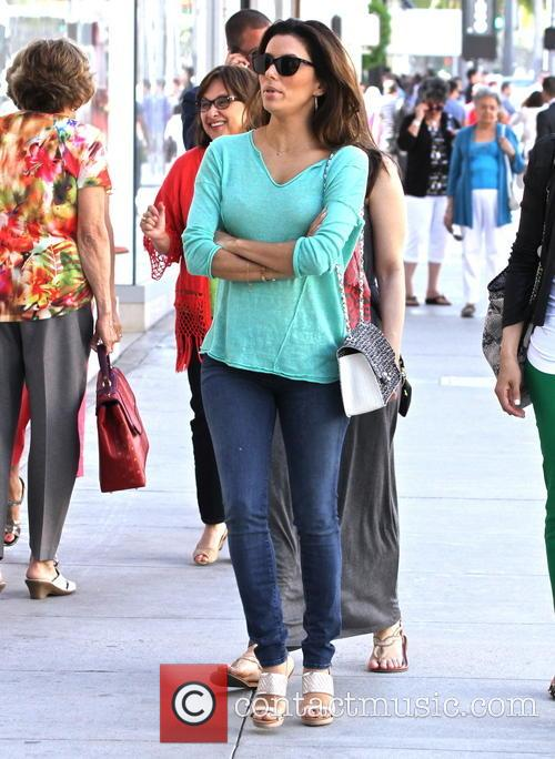 Eva Longoria seen shopping