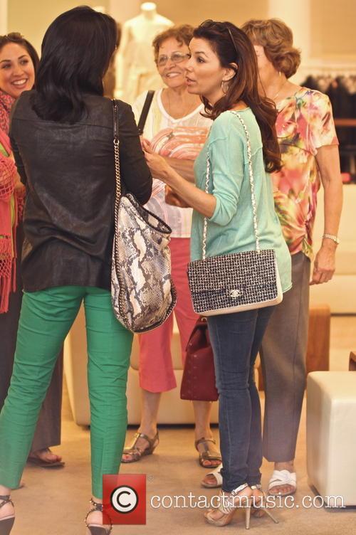 Eva Longoria seen shopping