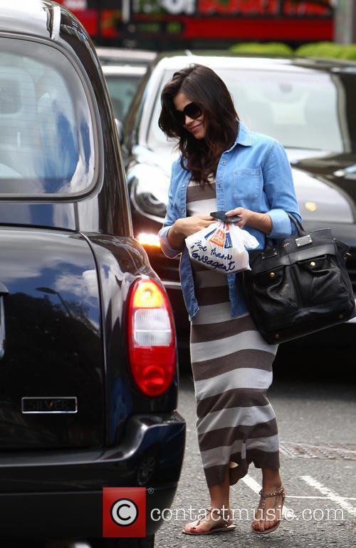 Jenna Dewan Tatum seen leaving a private residence