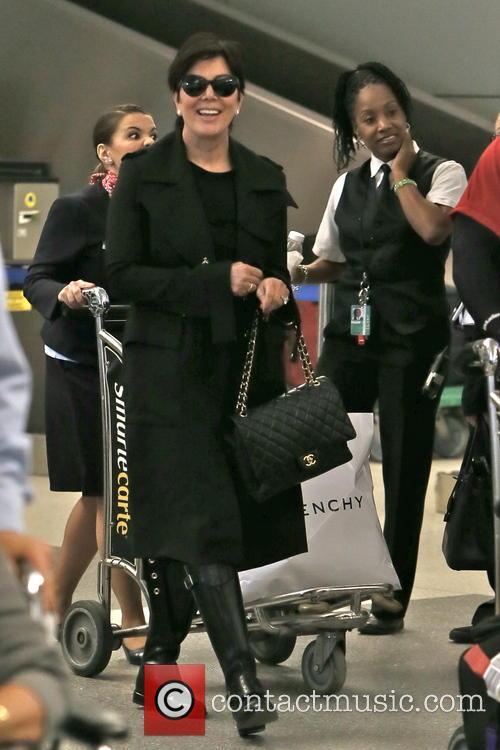 Kris Jenner, LAX Airport