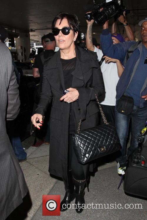 Kris Jenner, LAX Airport